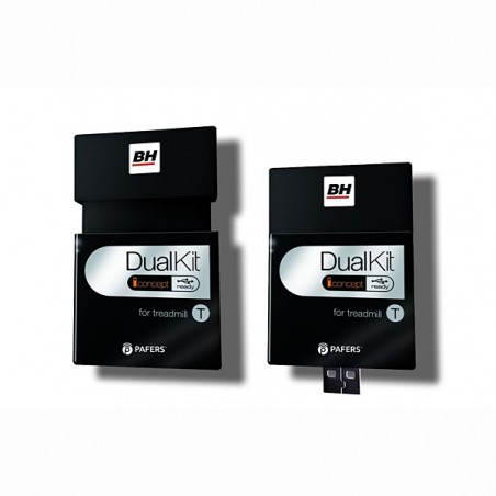 Dispositivo Dual Kit T necesario para poder correr y navegar por internet con la cinta de correr BH F2