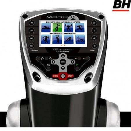 Monitor de la plataforma vibratoria semiprofesional BH Vibro GS SE triplano YV20RS
