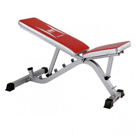 Banco de ejercicio multiposición uso regular BH Fitness ST5850 G585