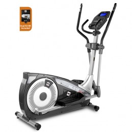 Bicicleta elíptica doméstica BH NLS18 Dual Plus con Dual Kit WG2385U