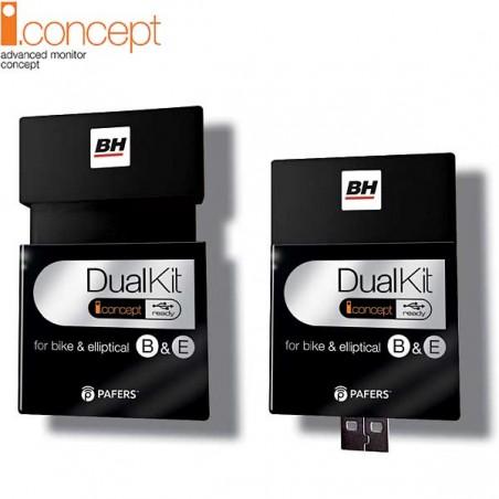 Kit USB Dual i.Concept Ready para la bicicleta elíptica BH i.Khronos G2487