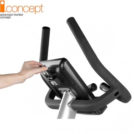 Modo de instalación del kit USB Dual i.Concept Ready para la bicicleta elíptica BH i.Khronos G2487