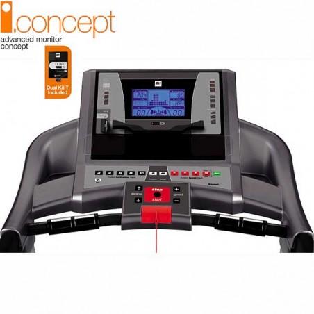 Monitor de la cinta de correr uso regular Bh i.F2W i.Concept con Dual Kit WG6473U