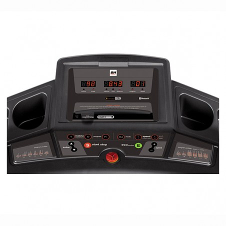 Monitor de serie de la cinta de correr uso regular Bh Pioneer Run i.Concept Dual Kit WG6483