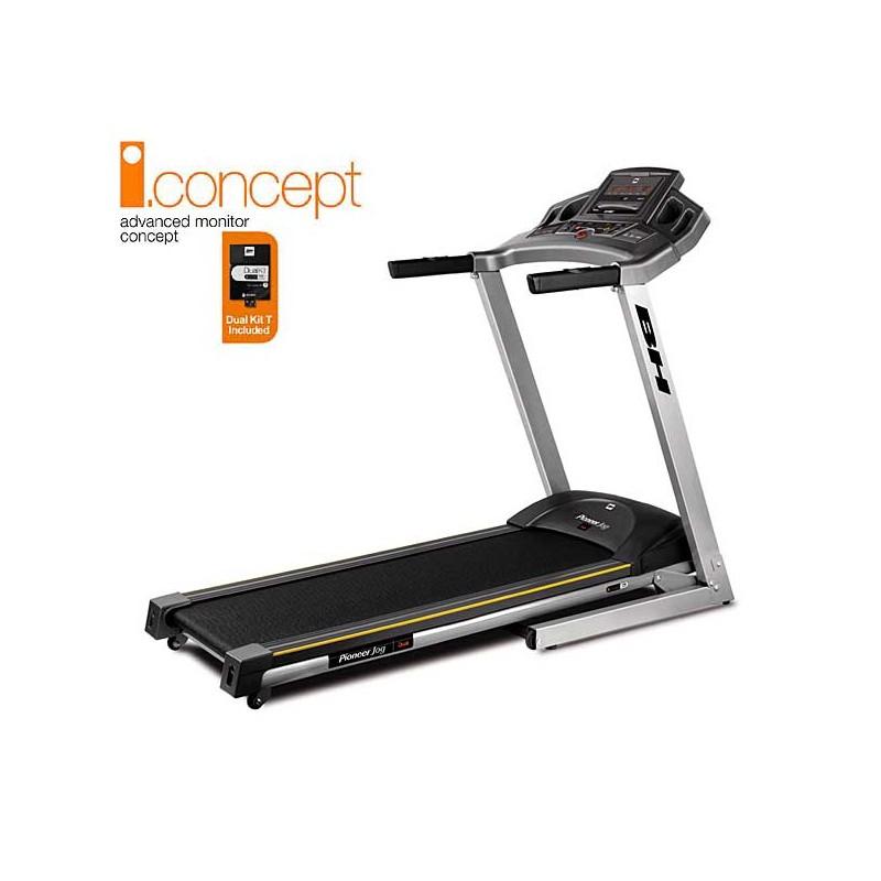 Cinta de andar y correr para uso doméstico regular Bh i.Pioneer Jog i.Concept con Dual Kit incluido WG6482