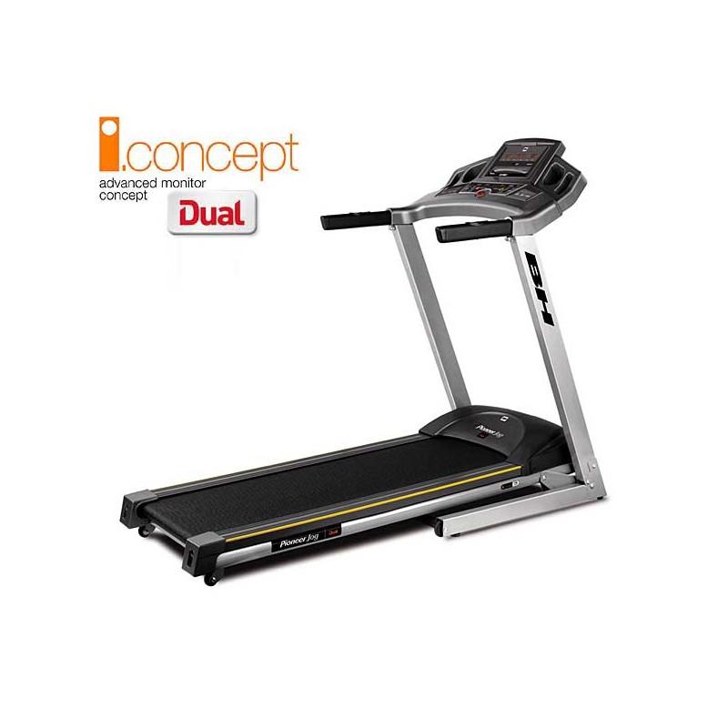 Cinta de andar y correr para uso doméstico regular Bh Pioneer Jog i.Concept Dual Kit opcional G6482