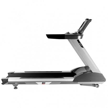 Perfil de la cinta para andar y correr de utilización intensiva en gimnasios y centros deportivos profesionales BH LK6600 G660