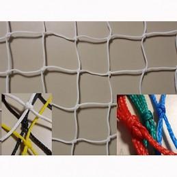 Red protección deportiva polietileno Malla 45x45mm hilo 2,5 mm