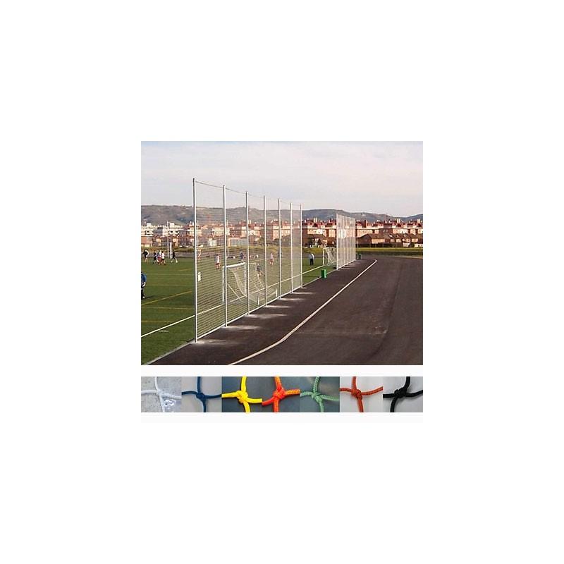 Red protección deportiva Nylon malla 25x25 mm hilo 1.8 mm