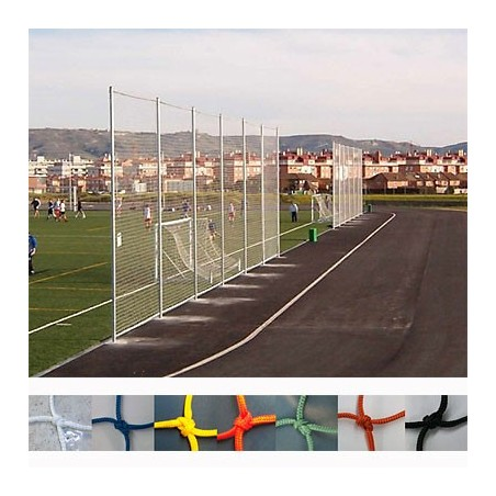 Red protección deportiva Nylon malla 25x25 mm hilo 1,8 mm precio m2
