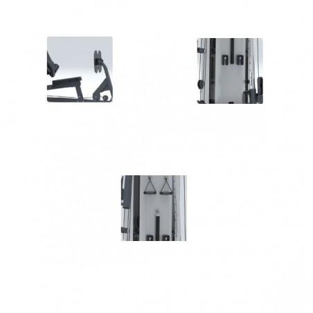 Detalles de la máquina de musculación profesional Vision ST717