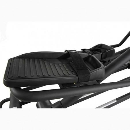 Pedales con correa de la bicicleta elíptica BH i.Cross3000 con Dual Kit BE WG880 para entrenamiento HIIT