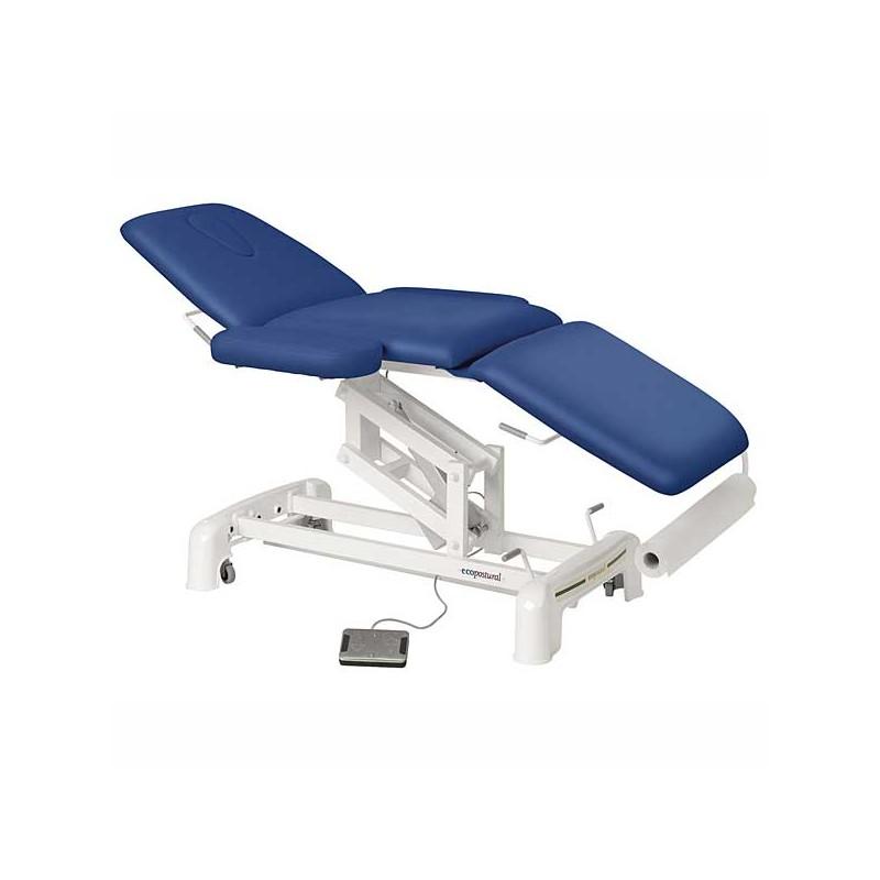 Camilla eléctrica 3 cuerpos Ecopostural C3516T20 para masaje y terapia