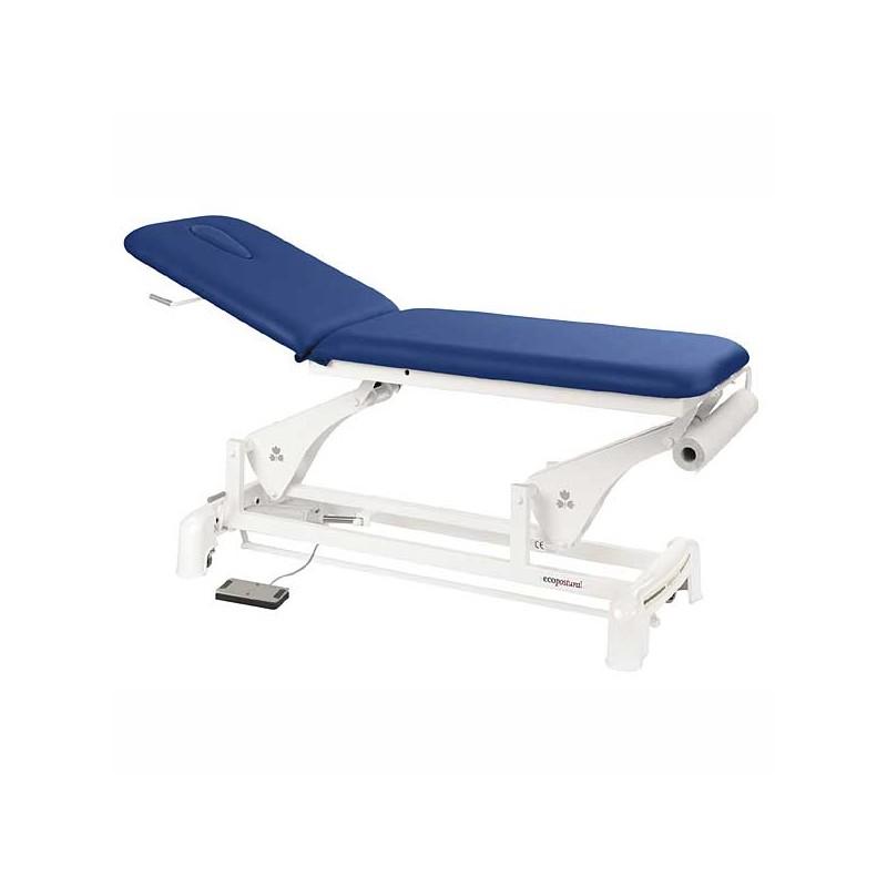 Camilla eléctrica 2 cuerpos para masajes y terapias Ecopostural C3553T13