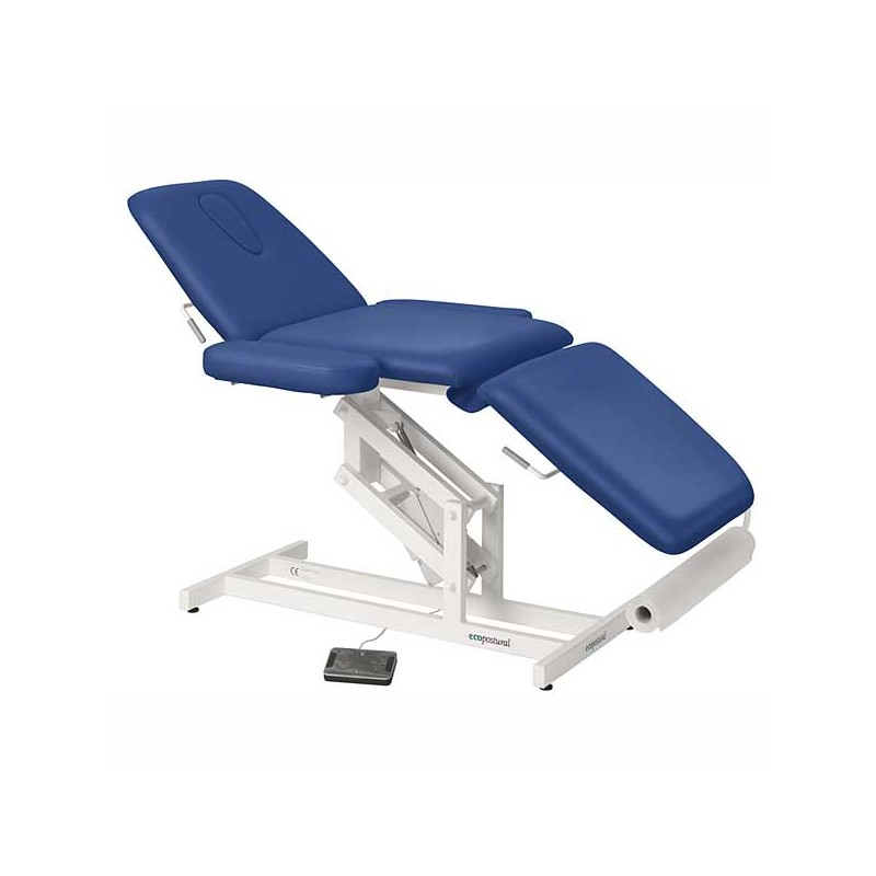 Camilla eléctrica 3 cuerpos para masajes, estética o terapias Ecopostural C3589T20