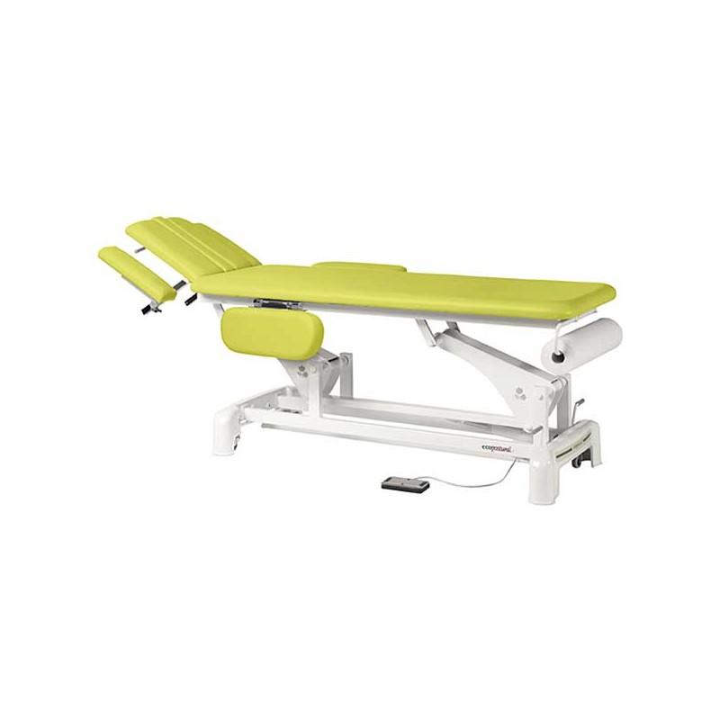 Camilla eléctrica 2 cuerpos para estética, tratamientos, masajes y terapias Ecopostural C3542T03