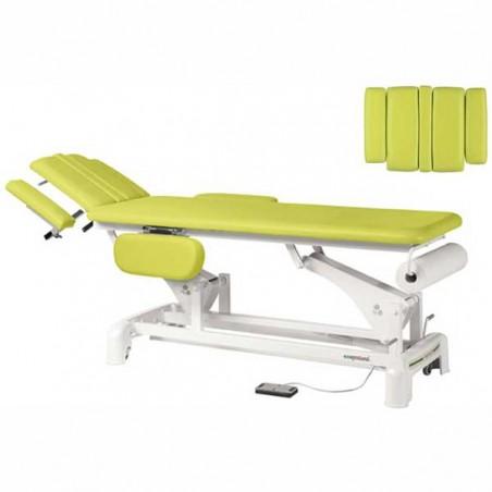 Cabezal de la camilla eléctrica 2 cuerpos para estética, tratamientos, masajes y terapias Ecopostural C3542T03