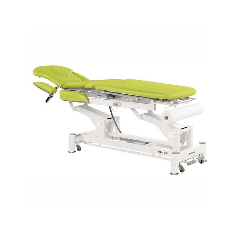 Camilla eléctrica 3 cuerpos Ecopostural C5531T01 para tratamientos, masajes y terapias
