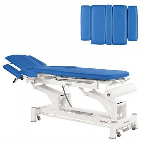 Respaldo de la camilla eléctrica 3 cuerpos Ecopostural C5532T03 para tratamientos, masajes y terapias
