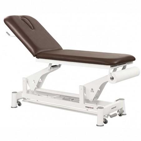 Camilla eléctrica 2 cuerpos Ecopostural C5533T13 para tratamientos, masajes y terapias