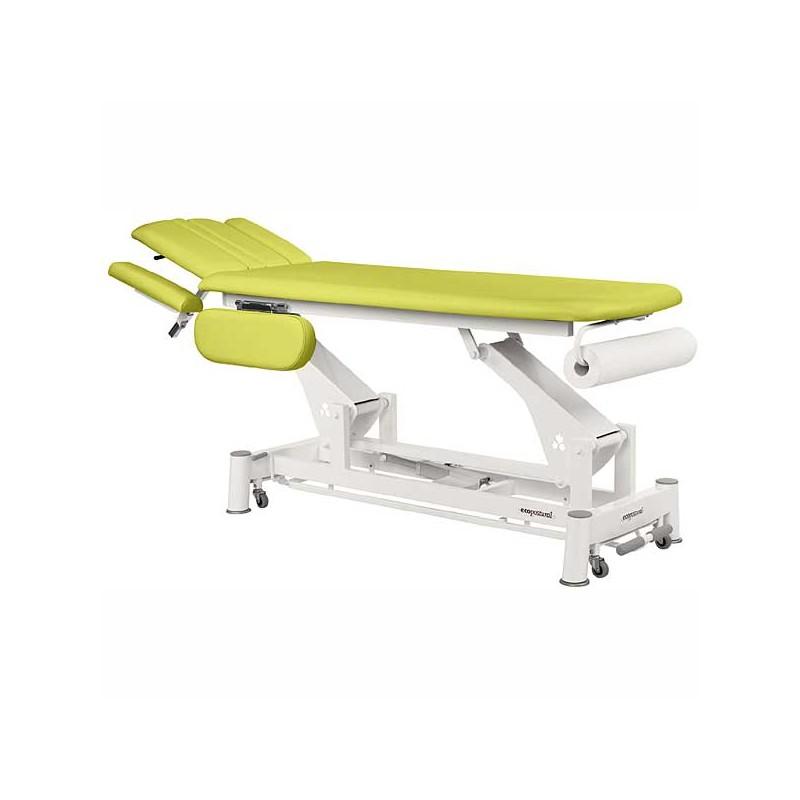 Camilla eléctrica 2 cuerpos Ecopostural C5544T03 para tratamientos, masajes y terapias