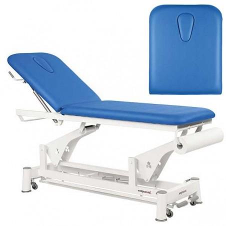 Respaldo de la camilla eléctrica 2 cuerpos Ecopostural C5552T13 para tratamientos, masajes y terapias