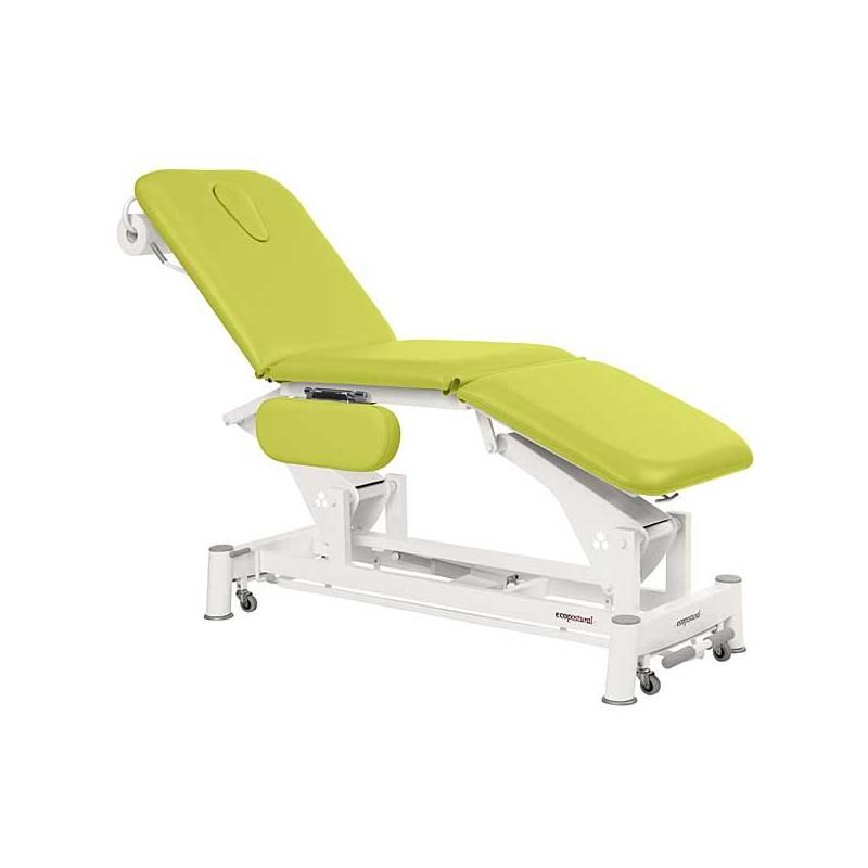 Camilla eléctrica 3 cuerpos Ecopostural C5556T13 para tratamientos, masajes y terapias