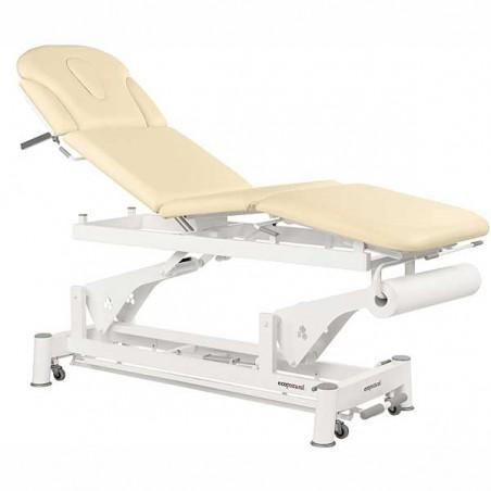 Camilla eléctrica 4 cuerpos Ecopostural C5579T01 para tratamientos, masajes y terapias