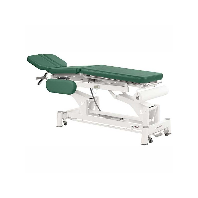 Camilla eléctrica 3 cuerpos Ecopostural C5590T05 para osteopatía, tratamientos, masajes y terapias