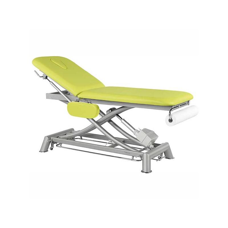 Camilla eléctrica 2 cuerpos Ecopostural C7951T13 para tratamientos, masajes y terapias