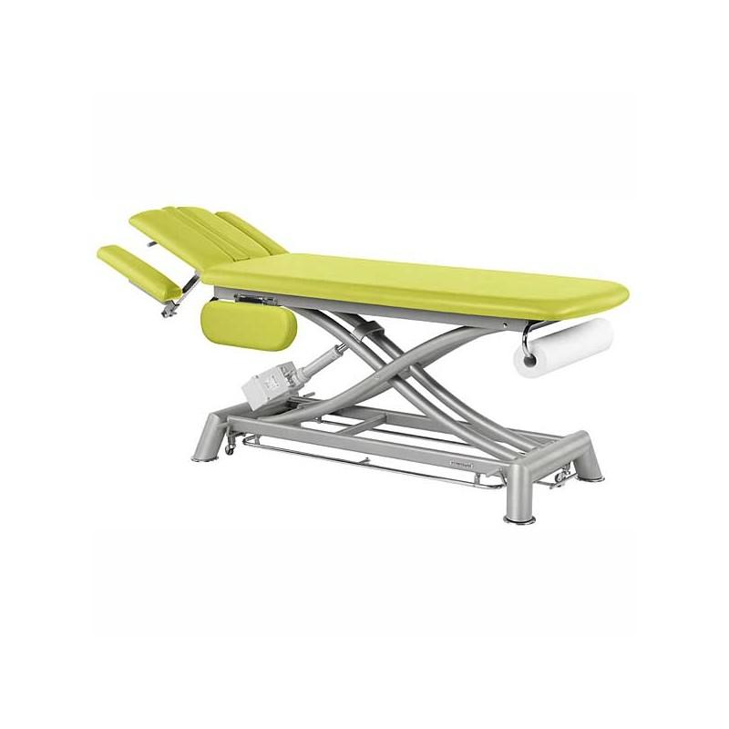 Camilla eléctrica 2 cuerpos Ecopostural C7944T03 para osteopatía, tratamientos y terapias