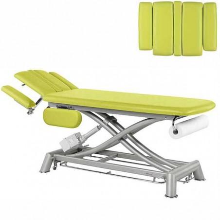 Respaldo de la camilla eléctrica 2 cuerpos Ecopostural C7944T03 para osteopatía, tratamientos y terapias