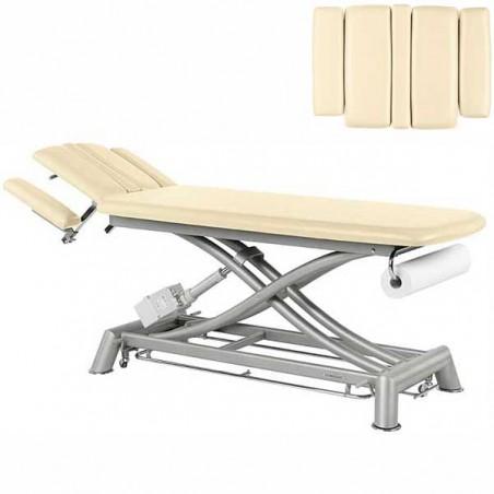 Respaldo de la camilla eléctrica 2 cuerpos Ecopostural C7943T03 para osteopatía, tratamientos y terapias