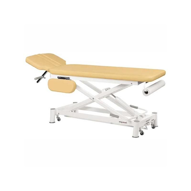 Camilla eléctrica 2 cuerpos Ecopostural C7935T05 para osteopatía, masajes y terapias
