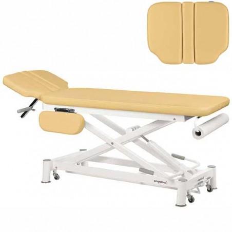 Respaldo de la camilla eléctrica 2 cuerpos Ecopostural C7935T05 para osteopatía, masajes y terapias