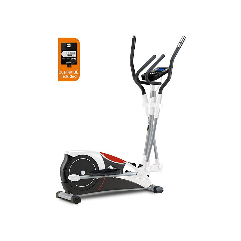 Bicicleta elíptica uso doméstico BH Athlon Dual con Dual Kit WG2336U