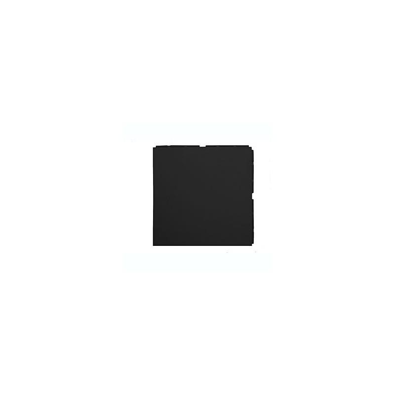 Loseta suelo gimnasio 330x330x10 mm negro