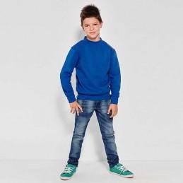 Sudadera deportiva CLÁSICA para niño manga larga y cuello redondo