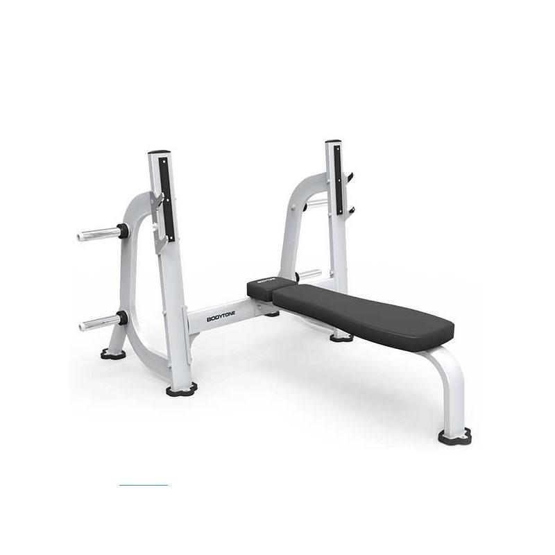 Máquina musculación profesional banco press plano olímpico EB08