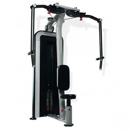 Máquina musculación profesional Aperturas y Deltoides carga 95 kg E23