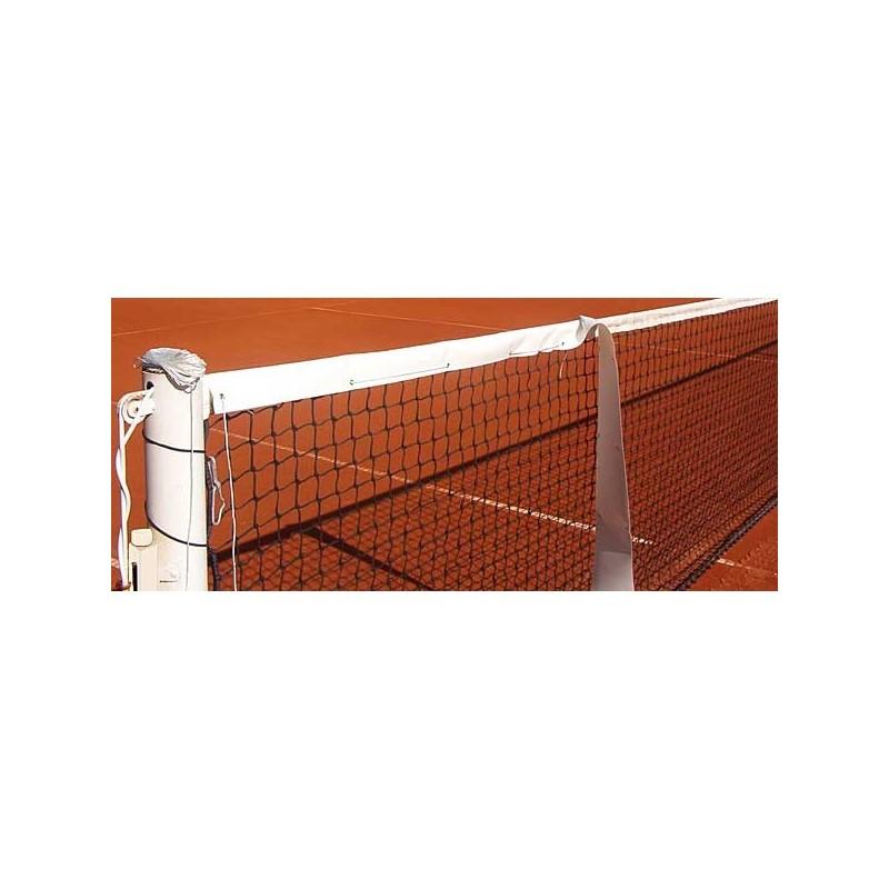 Cinta de protección para parte superior red de tenis - Ancho: 11cm