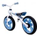 "Motocicleta infantil sin pedales JD Bug Billy 12"" Blanco Azul"