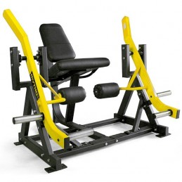 Máquina de musculación Extensión de piernas para discos