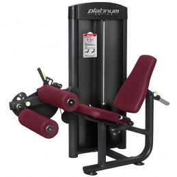 Femoral sentado carga placas musculación profesional PC09