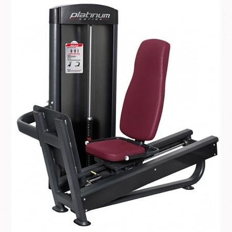 Prensa de piernas sentado musculación profesional PC09