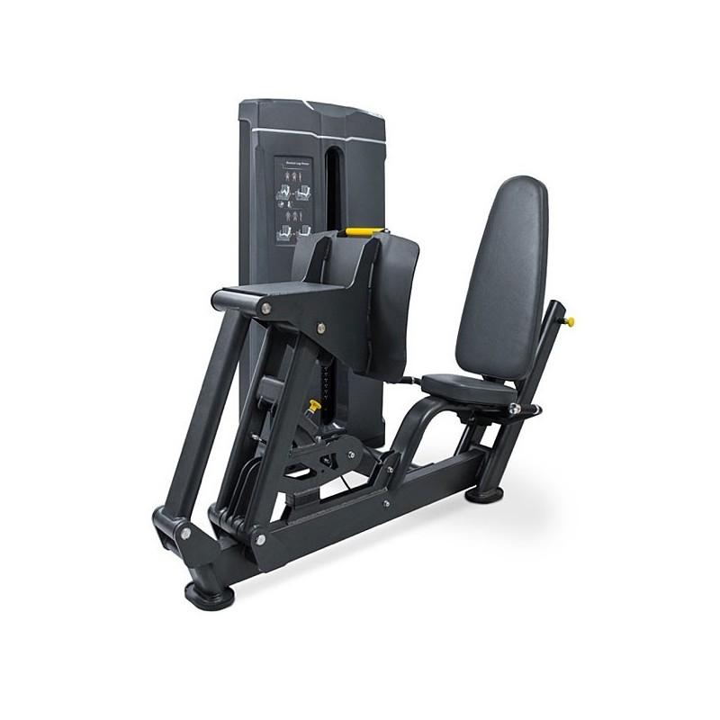 Prensa de piernas horizontal placas musculación profesional PC16