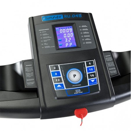 Cinta correr plegable motor 2.5 CV Runner RU-04B
