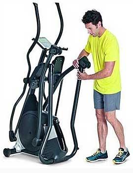 bajar de peso con bicicleta eliptica